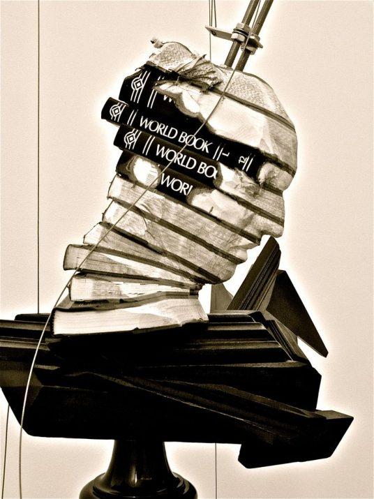 sculpture de l'artiste Wim Botha
